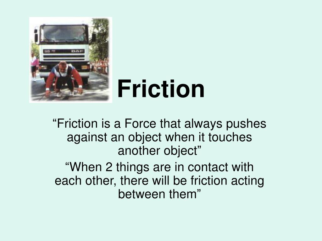 friction l.