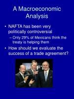 a macroeconomic analysis
