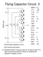 flying capacitor circuit 3