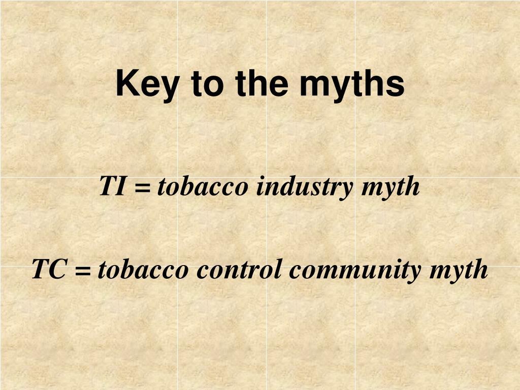 Key to the myths