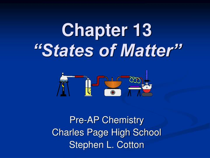 chapter 13 states of matter n.