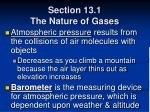 section 13 1 the nature of gases11