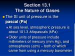 section 13 1 the nature of gases13