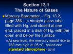 section 13 1 the nature of gases14