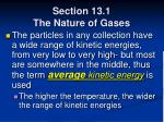 section 13 1 the nature of gases20