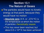 section 13 1 the nature of gases22