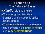 section 13 1 the nature of gases5
