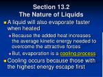 section 13 2 the nature of liquids34