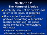 section 13 2 the nature of liquids37