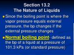 section 13 2 the nature of liquids42