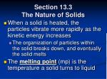 section 13 3 the nature of solids54