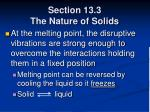 section 13 3 the nature of solids55