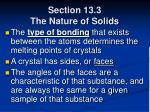 section 13 3 the nature of solids59