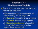 section 13 3 the nature of solids64