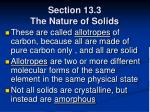 section 13 3 the nature of solids65