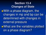 section 13 4 changes of state77