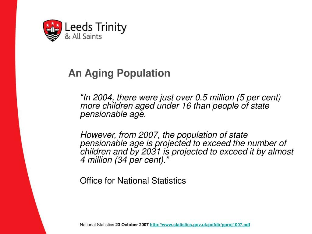An Aging Population