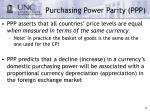 purchasing power parity ppp21