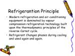 refrigerantion principle