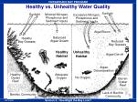 healthy vs unhealthy water quality