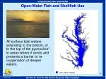 open water fish and shellfish use35