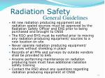 radiation safety31