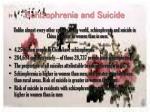 schizophrenia and suicide