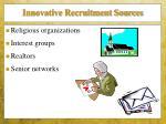 innovative recruitment sources