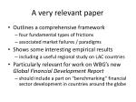 a very relevant paper