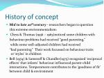 history of concept12