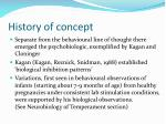 history of concept13