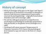 history of concept14