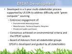 epeat development