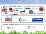 epeat partners
