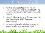 the epeat system