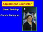 adjustment counselor