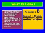 what is a gpa