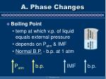a phase changes7