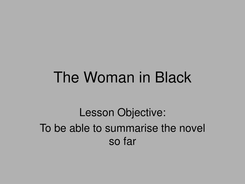 the woman in black l.