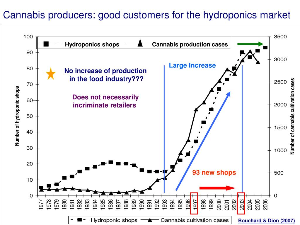 Cannabis producers: good customers for the hydroponics market