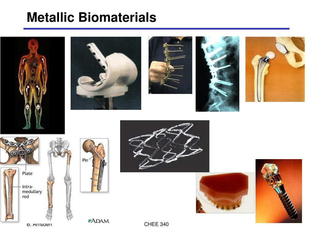 metallic biomaterials l.
