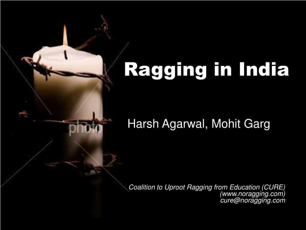 ragging in india l.