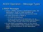 aodv operation message types8