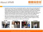 about iipmr9