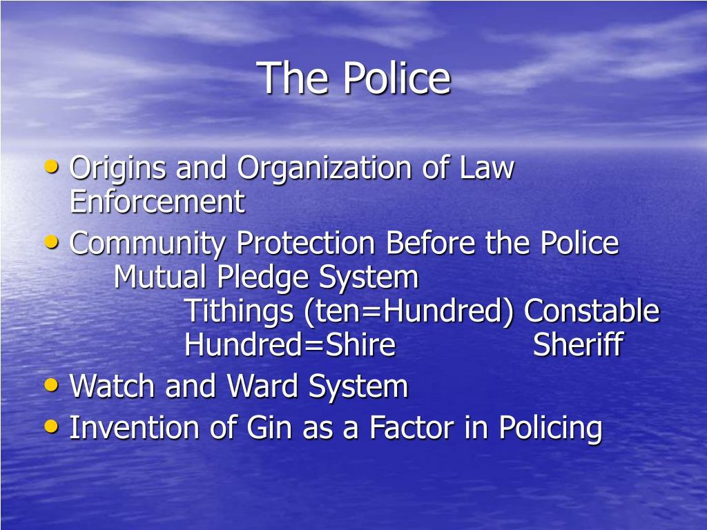 the police l.