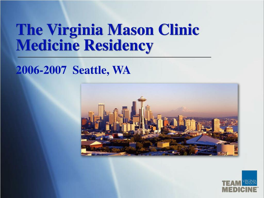 the virginia mason clinic medicine residency l.