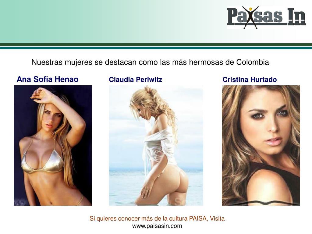 Nuestras mujeres se destacan como las más hermosas de Colombia