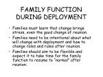 family function during deployment85