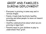 grief and families during deployment79