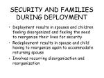 security and families during deployment81
